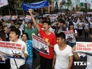 HCM-Ville : contre l'implantation par la Chine de la plate-forme dans la ZEE du Vietnam