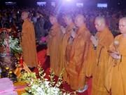 Célébration solennelle de la naissance du Bouddha