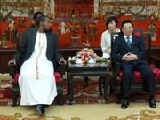 Hanoi souhaite coopérer avec Toro en divers domaines