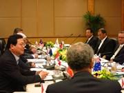 Ouverture des négociations du TPP au Vietnam