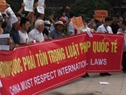Les Vietnamiens à l'étranger tournés vers la Mer Orientale