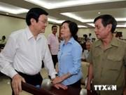 Mer Orientale: Le chef de l'Etat éclaircit la position du Vietnam