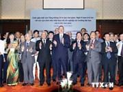 Le président azerbaïjanais rencontre des étudiants vietnamiens