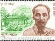 Les premiers timbres postaux du Président Hô Chi Minh présentés au public