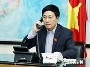 Mer Orientale: entretien téléphonique entre Pham Binh Minh et John Kerry
