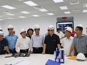 Un vice-PM inspecte le projet Formosa à Vung Ang