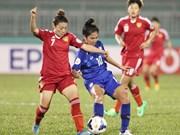 Football féminin: le Vietnam perd son billet pour la Coupe du monde 2015