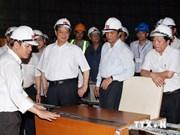 Le PM inspecte le futur siège de l'Assemblée nationale