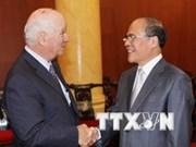 Le président de l'AN Nguyen Sinh Hung reçoit un responsable américain