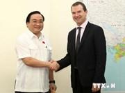 Le vice-PM Hoang Trung Hai reçoit le secrétaire général de la CITES