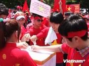 Archipels : soutien des Vietnamiens de République de Corée