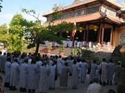 Thua Thien-Hue: cérémonie de prière pour la paix en Mer Orientale