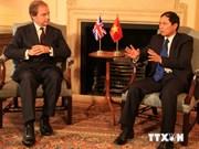 Promotion du partenariat stratégique Vietnam-Royaume-Uni