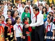 Le Parti et l'Etat s'intéressent au soin des enfants