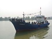 Les premiers bateaux de pêche à coque en fer ont déjà fait des adeptes