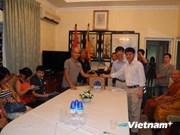 Les Vietnamiens au Sri Lanka aux côtés des soldats à Hoang Sa et Truong Sa