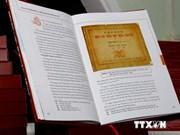 Un nouveau livre sur la souveraineté du Vietnam en Mer Orientale