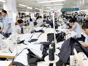 Bond de 17 % des exportations de textile en cinq premiers mois