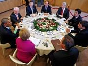 Le G7 s'inquiète des tensions en Mer Orientale