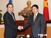 Pham Binh Minh reçoit le ministre thaïlandais des Affaires étrangères par intérim