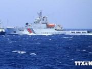 La Chine mobilise deux navires militaires de plus pour protéger sa plate-forme