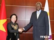 Une dirigeante vietnamienne rencontre le secrétaire général de l'OIF