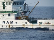 Un remorqueur chinois a éperonné un navire de la Surveillance des ressources halieutiques du Vietnam