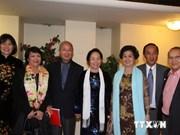 La vice-présidente Nguyên Thi Doan rencontre la diaspora vietnamienne à Paris