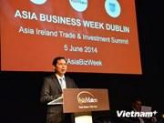 L'Irlande apprécie le rôle du Vietnam au sein de l'ASEAN et l'ONU
