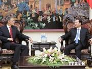 Le vice-PM Vu Van Ninh reçoit une délégation du FMI