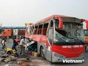 Accident de la route à Hai Phong : 40 blessés