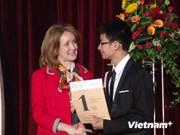 Olympiades de russe : des élèves vietnamiens primés en Russie
