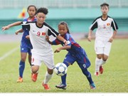 Championnat de football féminin U14 d'Asie du Sud-Est à HCM-Ville