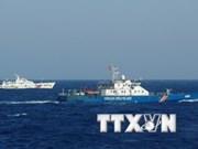 Les navires de pêche chinois font barrage aux bateaux de pêche vietnamiens