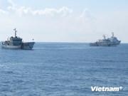 Les navires de la Surveillance des ressources halieutiques continuent de protéger la souveraineté nationale à Hoang Sa