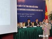 Activités d'exploration pétrolière du Vietnam en Mer Orientale