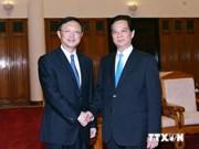 Le PM Nguyen Tan Dung reçoit le conseiller d'Etat chinois Yang Jiechi