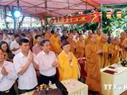 Quang Ninh : prière pour la paix et mise en chantier de la pagode Xa Tac