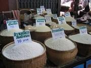 Thaïlande : paiement de 2,9 milliards de dollars aux riziculteurs
