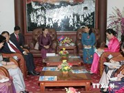 L'Association des femmes du Cambodge en visite au Vietnam
