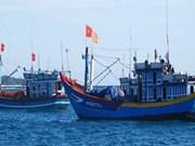 Activités d'assistance des pêcheurs vietnamiens