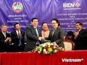 Route: la BIDV prête 53 millions de dollars au Laos