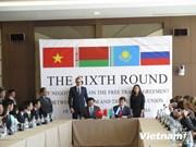 Le Vietnam et l'Union douanière progressent sur le FTA