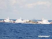 La Chine augmente le nombre de ses navires autour de la plate-forme