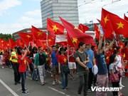 Poursuite des manifestations contre la Chine en Allemagne