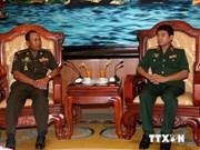 Vietnam-Cambodge: renforcement de la coopération entre les deux armées