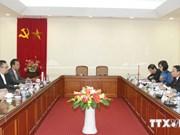 Renforcement de la coopération entre la VNA et Antara
