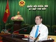 Adoption de projets de loi sur les douanes et l'environnement