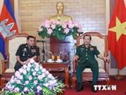 Une délégation cambodgienne en visite au Vietnam