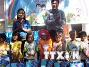 Quang Tri: 32,5 milliards de dongs pour les enfants en difficultés